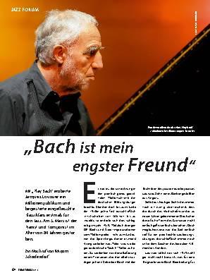 ,,Bach ist mein engster Freund