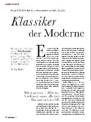 Klassiker der Moderne