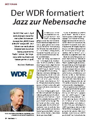 Der WDR formatiert Jazz zur Nebensache