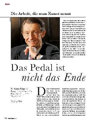 Das Pedal ist nicht das Ende