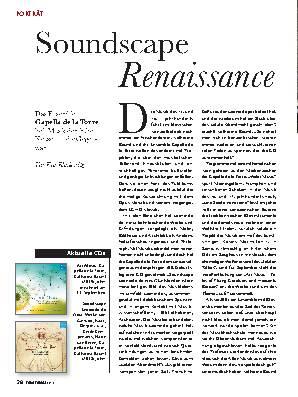 Soundscape Renaissance