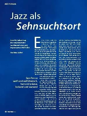 Jazz als Sehnsuchtsort