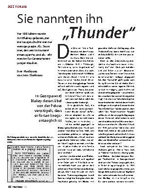 """Sie nannten ihn  """"Thunder"""""""
