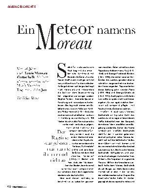 Ein Meteor namens Moreau