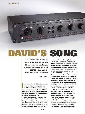 DAVID'S SONG