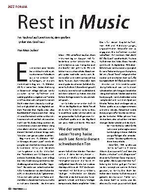Rest in Music
