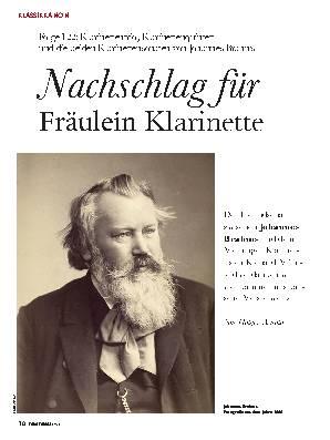 Nachschlag für Fräulein Klarinette