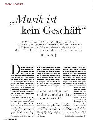 ,,Musik ist kein Geschäft