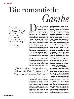 Die romantische Gambe