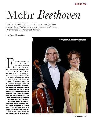 Mehr Beethoven