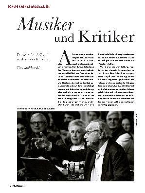 Musiker und Kritiker