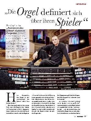 """""""Die Orgel definiert sich über ihren Spieler"""""""