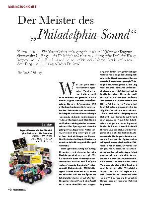 """Der Meister des """"Philadelphia Sound"""""""