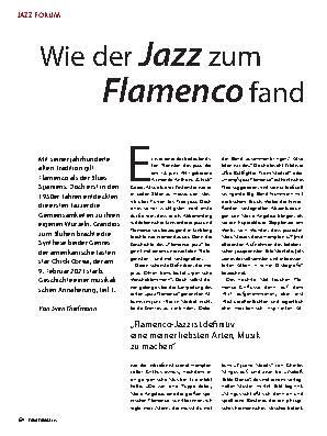 Wie der Jazz zum Flamenco fand