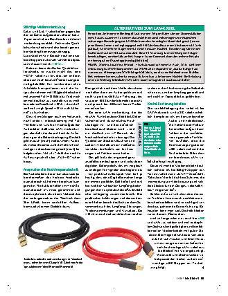Kabelqualität - noch ein Thema?