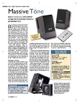 Bose Computer Music Monior