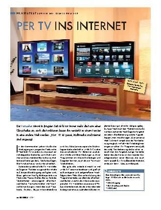Fernseher mit Netzwerk