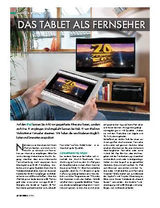 TV sehen am iPad