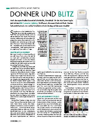 iPhone 5 und Lightning-Connector