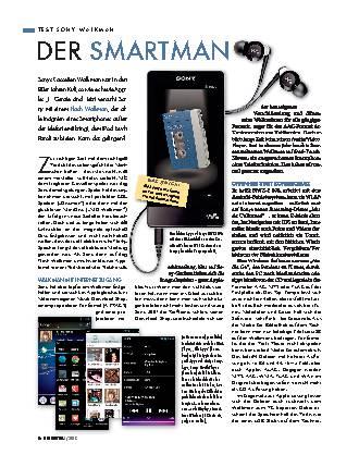Sony-Walkman NWZ-F800