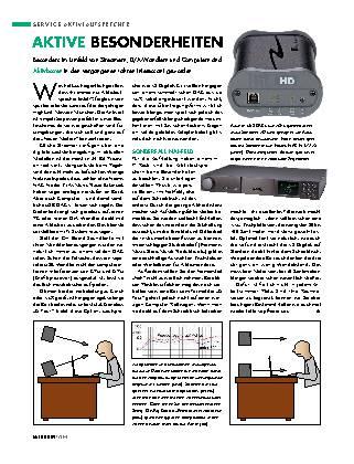 Aktiv-Lautsprecher richtig aufstellen