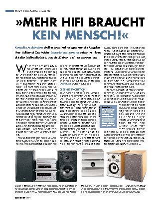 Kompaktanlagen von Marantz und Yamaha