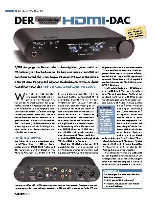 Der HDMI-DAC