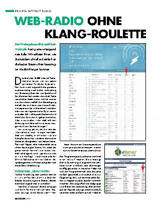 Web-Radio ohne Klang-Roulette