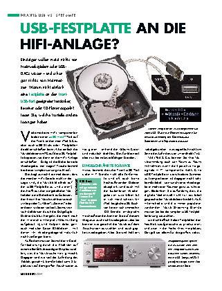 USB-Festplatte an die HiFi-Anlage?