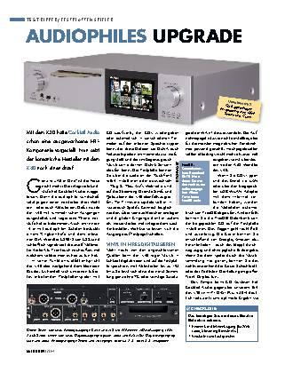 Audiophiles Upgrade