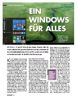 Ein Windows für alles