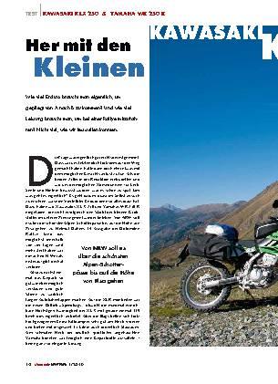 Kawasaki KLX 250 / Yamaha WR250 R