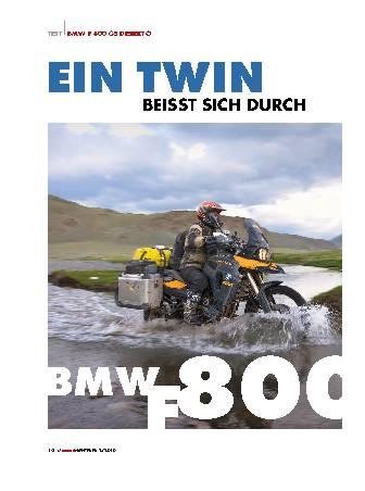 BMW F 800 GS Desierto