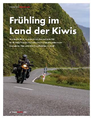 Frühling im Land der Kiwis