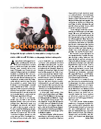 Sockenschuss