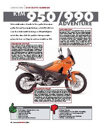 KTM 950 / 990 Adventure