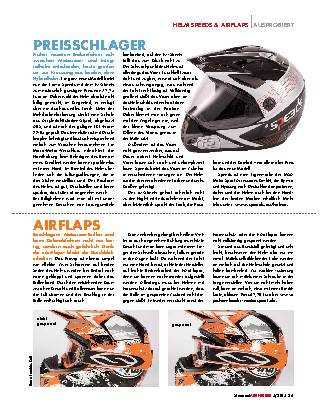 Helm Speeds & Airflaps