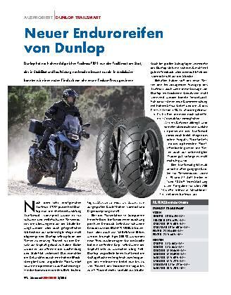 Neuer Enduroreifen von Dunlop