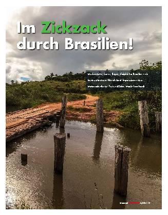 Im Zickzack durch Brasilien!