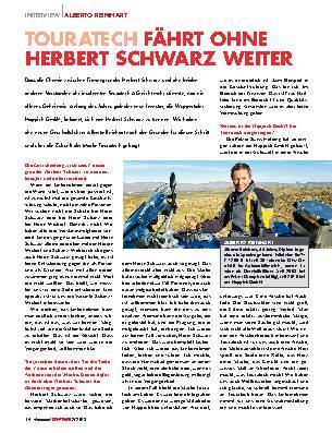 TOURATECH fährt ohne Herbert Schwarz weiter WEITER