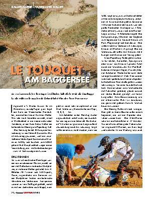 LE TOUQUET AM BAGGERSEE