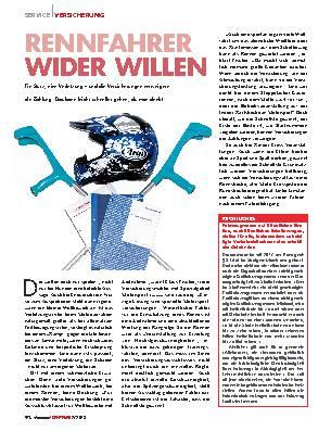 RENNFAHRER WIDER WILLEN