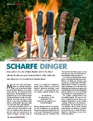 SCHARFE DINGER