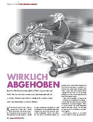 WIRKLICH ABGEHOBEN
