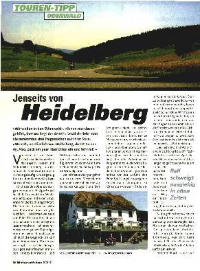 Jenseits von Heidelberg