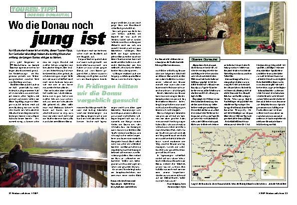 Wo die Donau noch jung ist