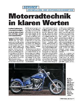 Motorradtechnik in klaren Worten
