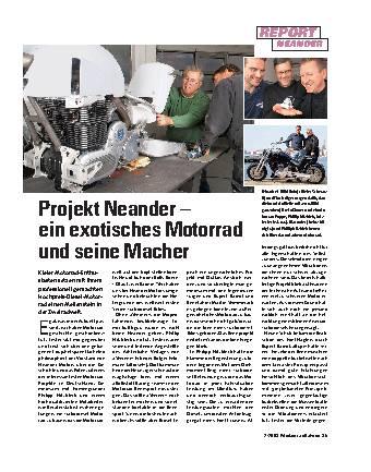 Projekt Neander – ein exotisches Motorrad und seine Macher