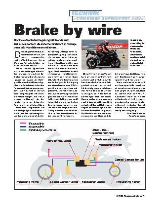 Brake by Wire