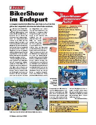 BikerShow im Endspurt